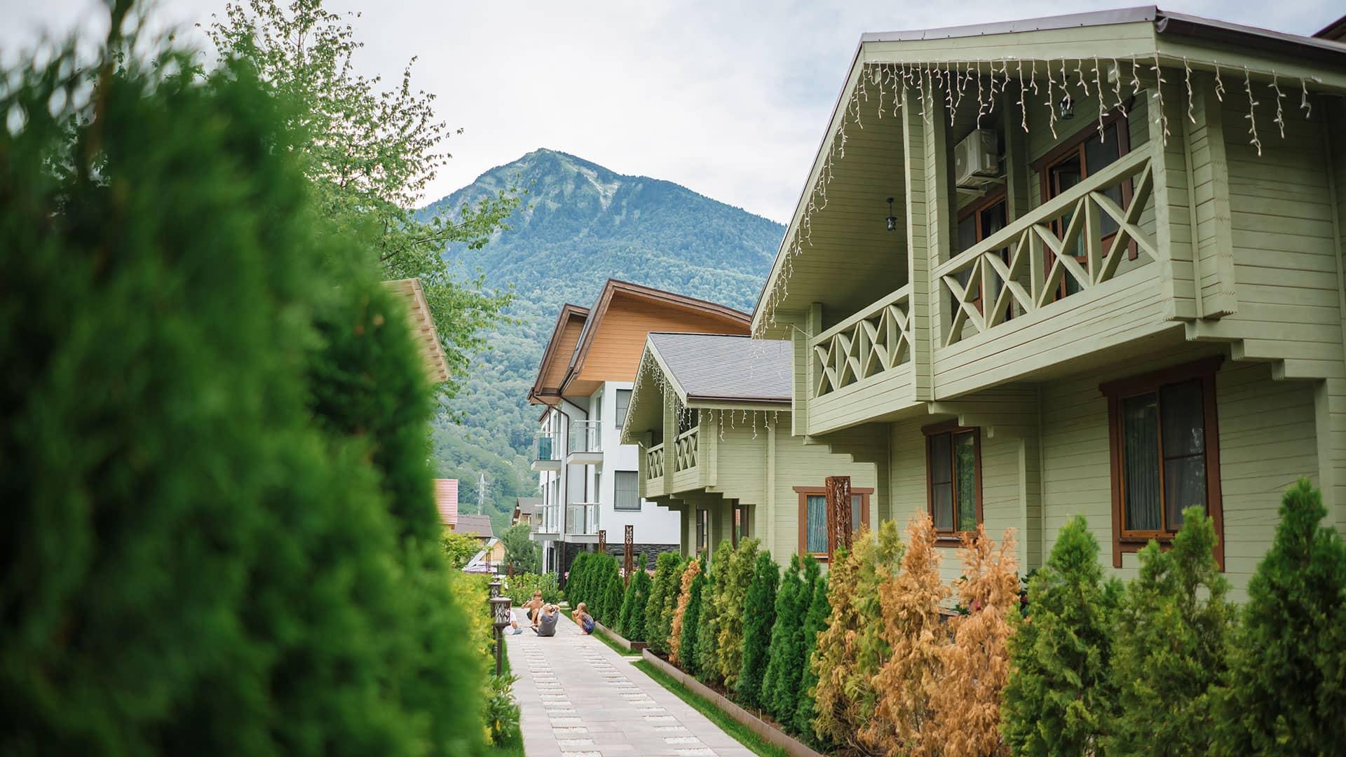 Шале - горные резиденции